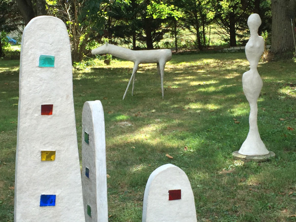 Cement sculptures